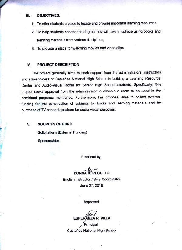 Proposal Page 2
