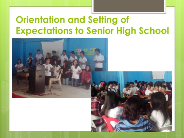 Senior High School Updates